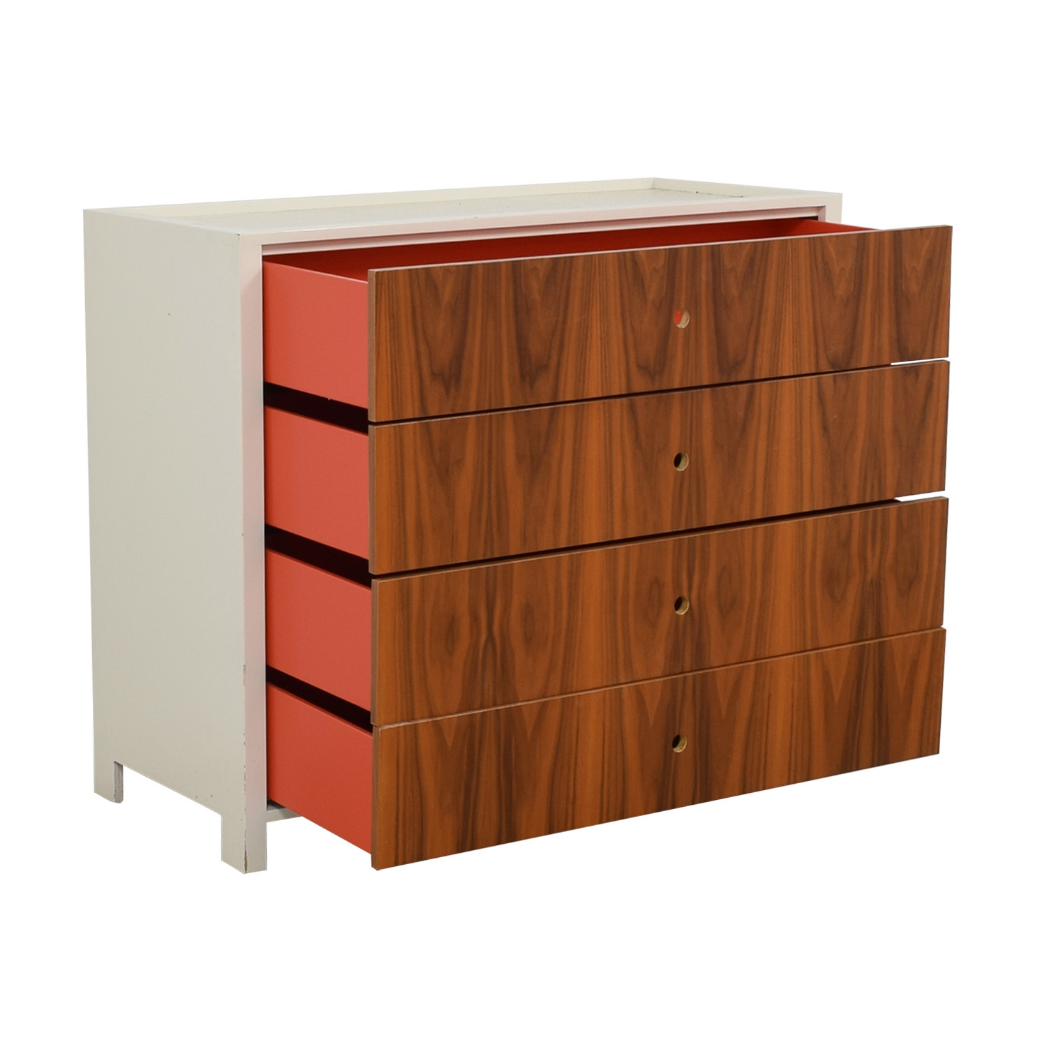 Superb 77 Off Ducduc Ducduc Parker White And Wood Dresser Changing Table Storage Download Free Architecture Designs Intelgarnamadebymaigaardcom