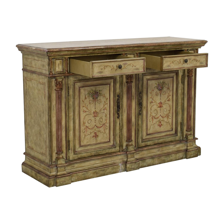 ... Buy Hooker Furniture Hooker Furniture Seven Seas Creme Scroll Painted  Sideboard Online ...