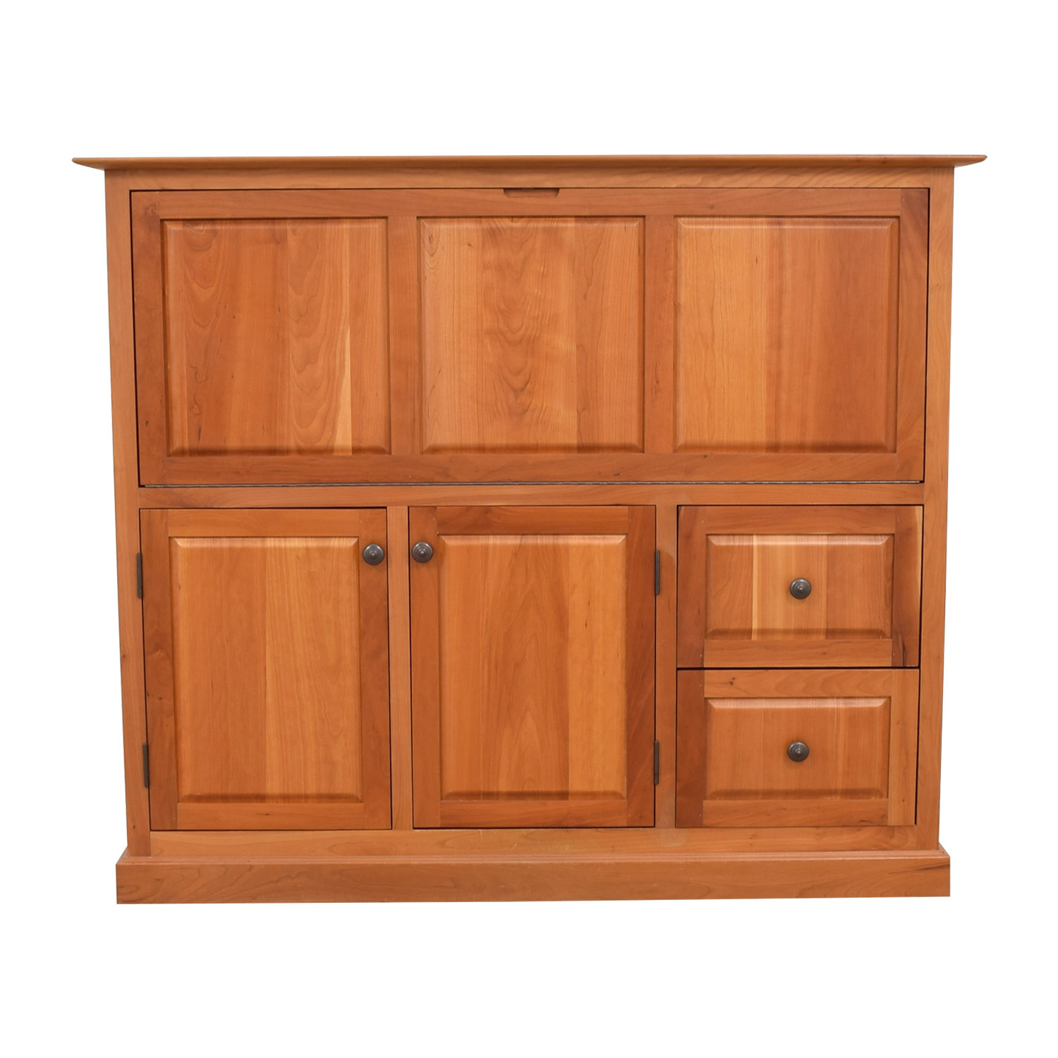 Copeland Copeland Wood Secretary Desk with Tray dimensions