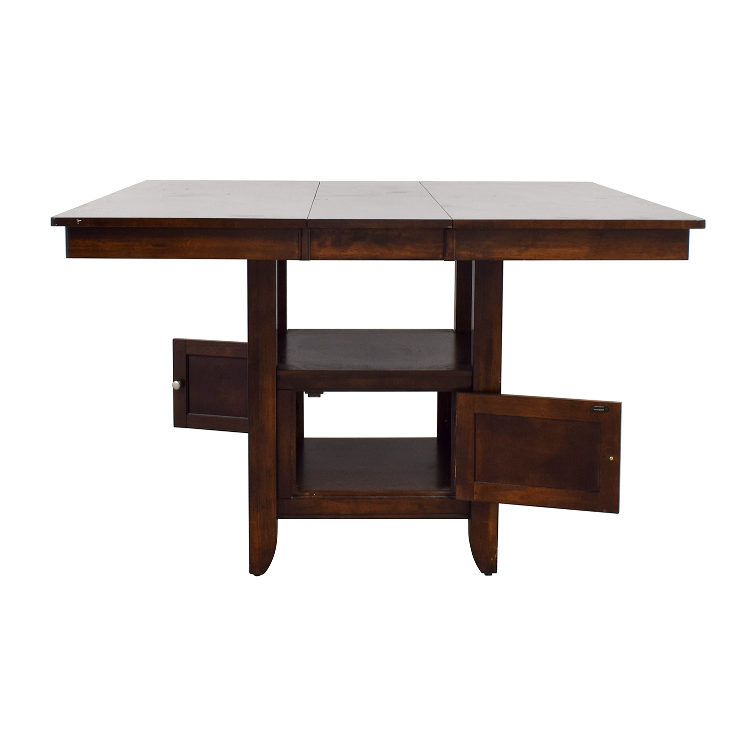 shop Wood Dining Table with Storage  Dinner Tables