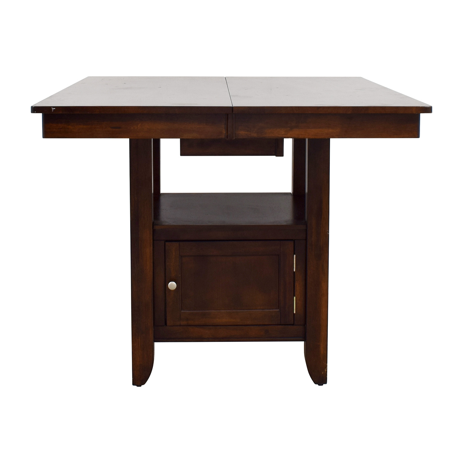 Wood Dining Table with Storage second hand