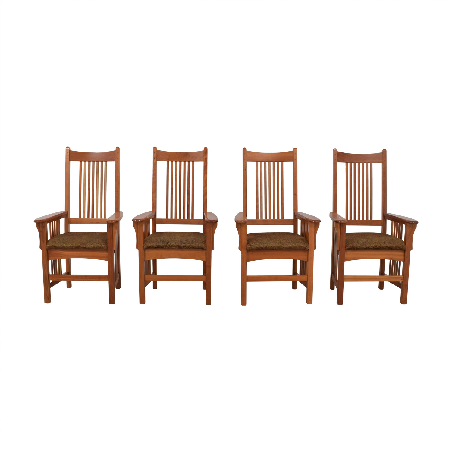 85 Off Arhaus Arhaus Furniture Mission Style Dining Chairs Chairs