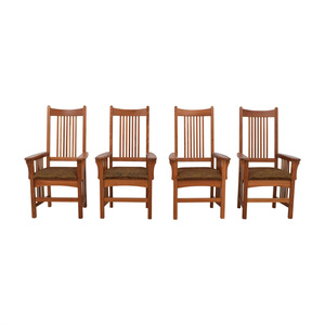 shop Arhaus Arhaus Furniture Mission Style Dining Chairs online