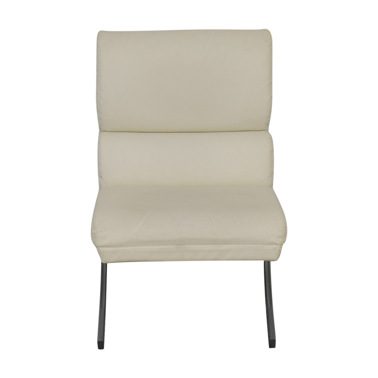 white leather occasional chair 86 off dimensions dimensions white leather accent chair 22000 | dimensions white leather accent chair second hand