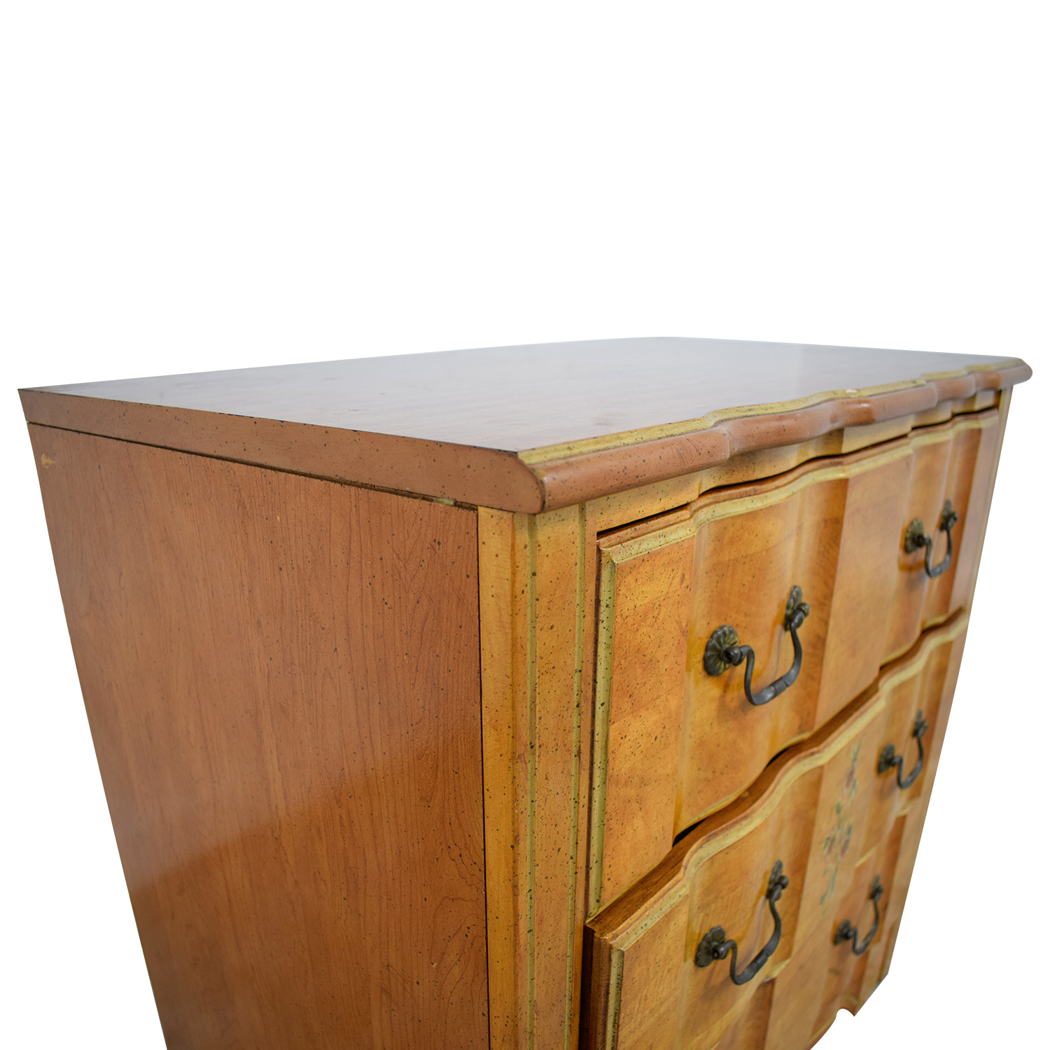 Vintage Painted Three-Drawer Chest of Drawers for sale