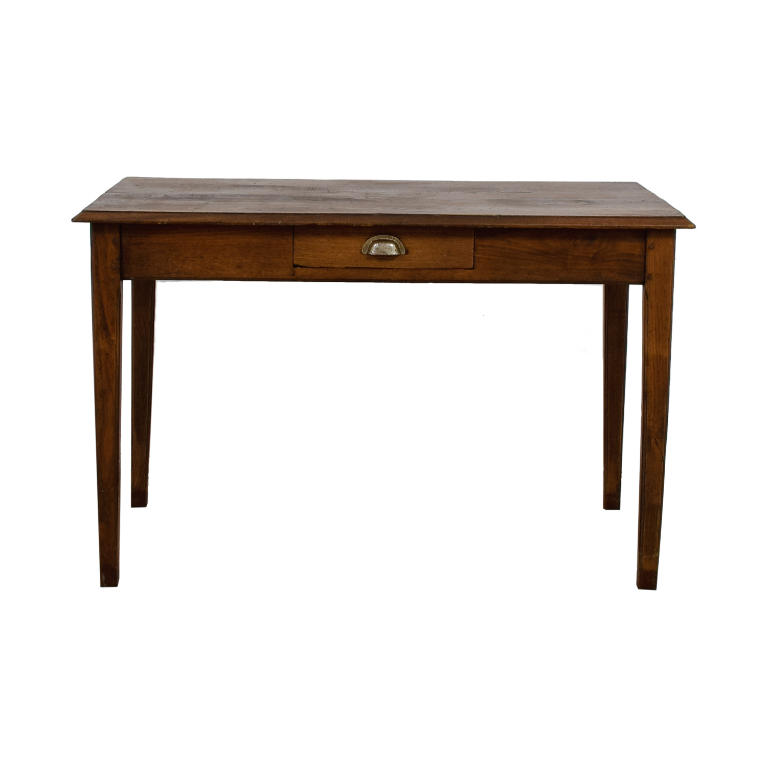 Vintage Oak Single Drawer Desk on sale