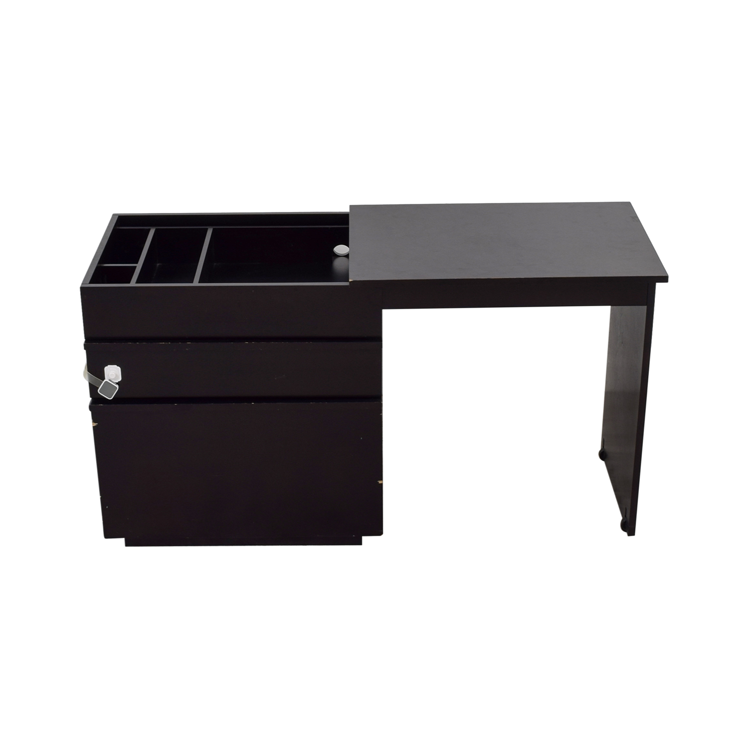 ... Shop Crate U0026 Barrel Convertible File Cabinet To Desk Crate U0026 Barrel  Home Office Desks ...