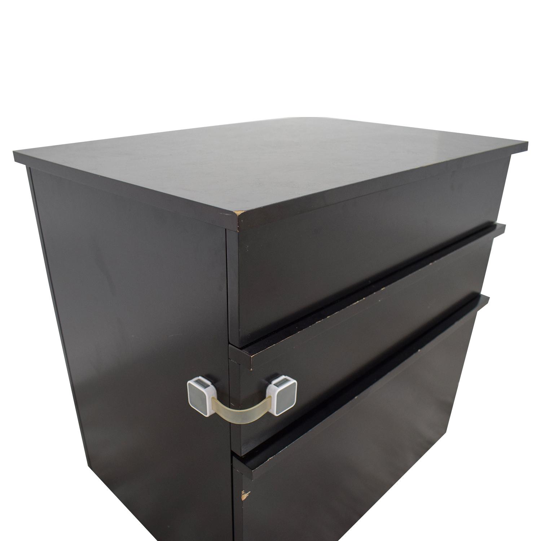 ... Crate U0026 Barrel Convertible File Cabinet To Desk / Home Office Desks