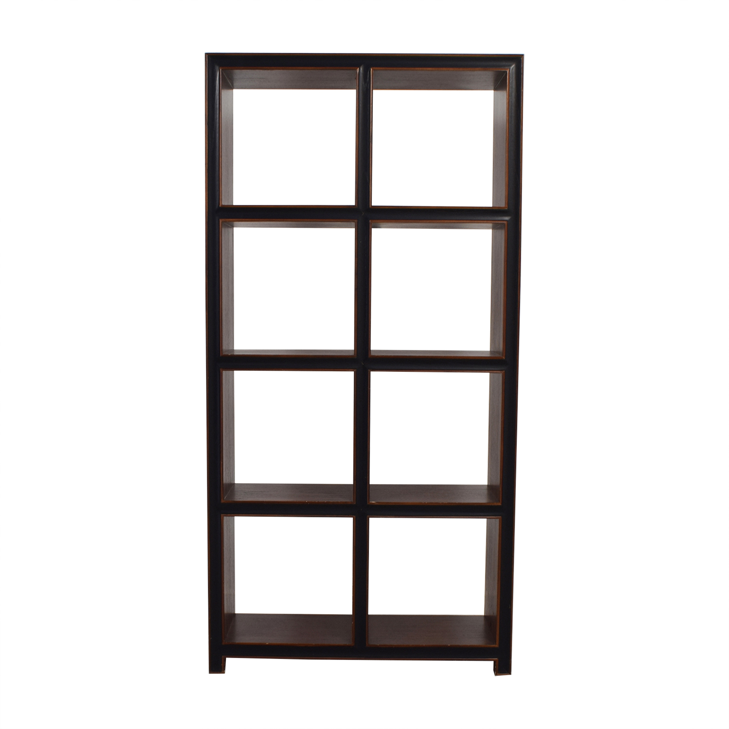 Crate & Barrel Wood Bookcase / Storage