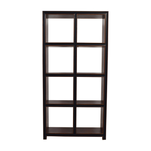 Crate & Barrel Wood Bookcase Crate & Barrel