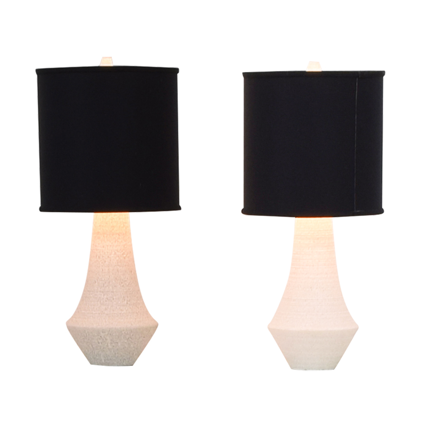 buy Serena & Lily White & Black Table Lamp Serena & Lily Lamps