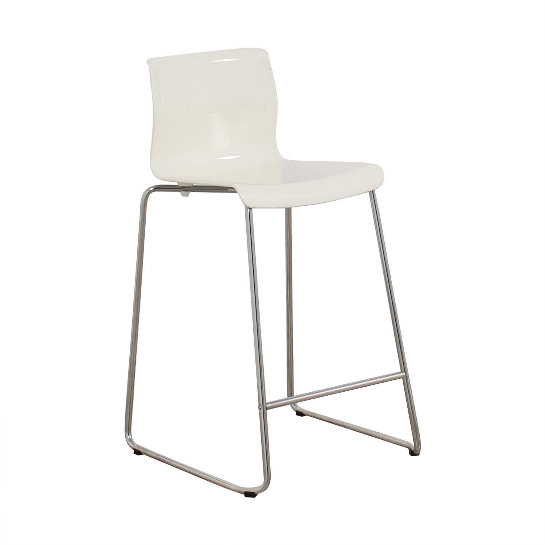 90 Off Ikea Ikea Glenn White Stool Chairs