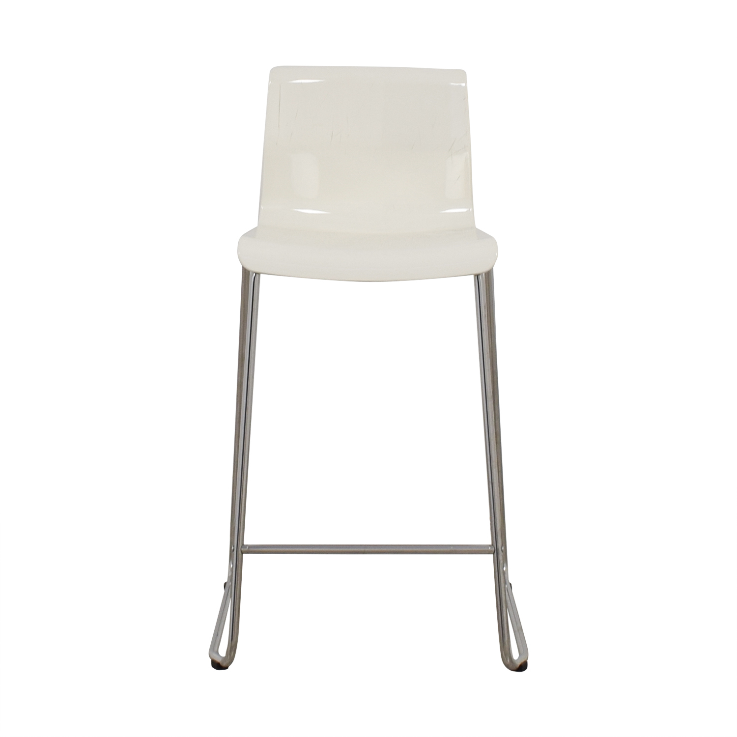 IKEA Glenn White Stool sale