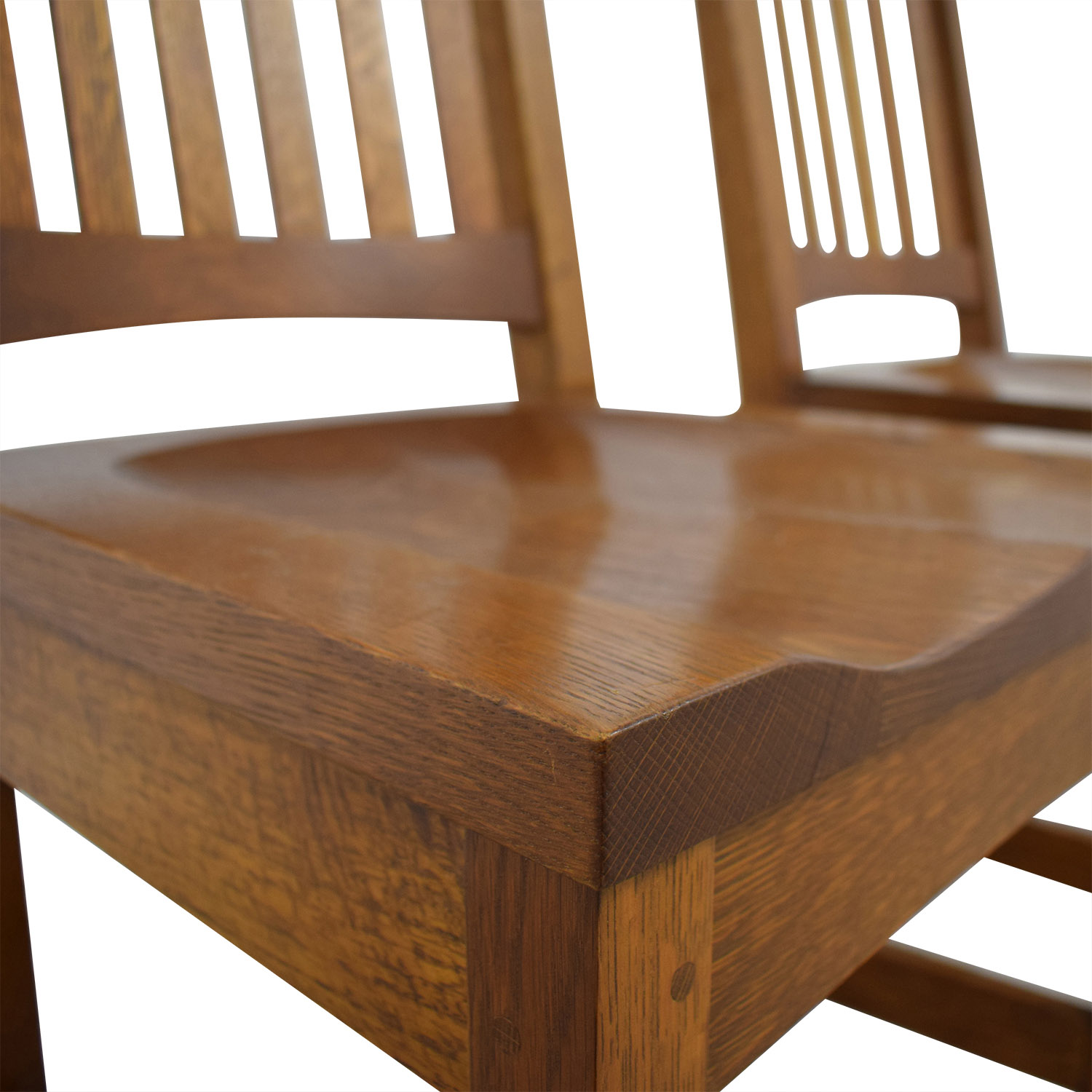 Stickley Audi & Co Handcrafted Wooden Chairs / Dining Chairs
