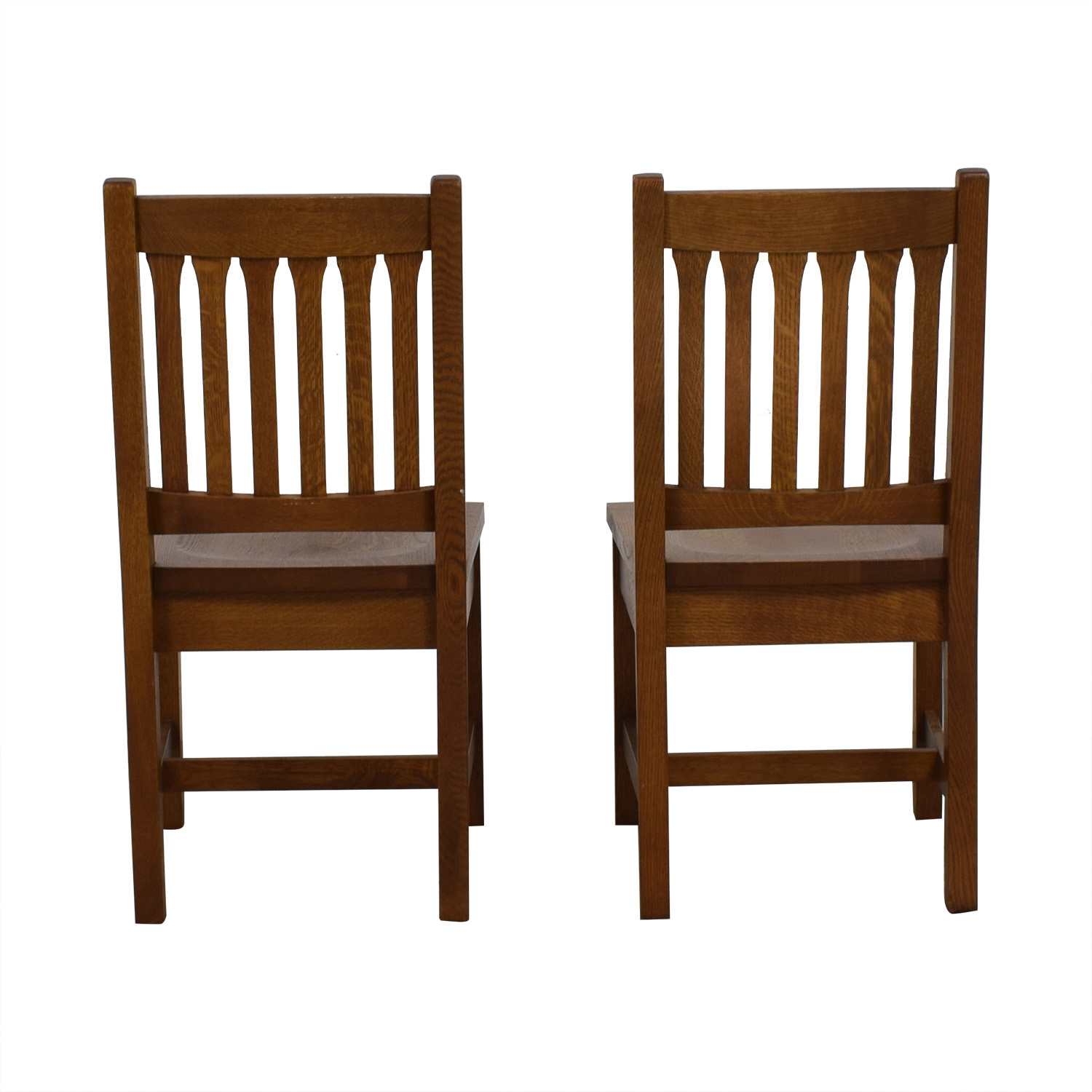 Stickley Audi & Co Stickley Audi & Co Handcrafted Wooden Chairs on sale