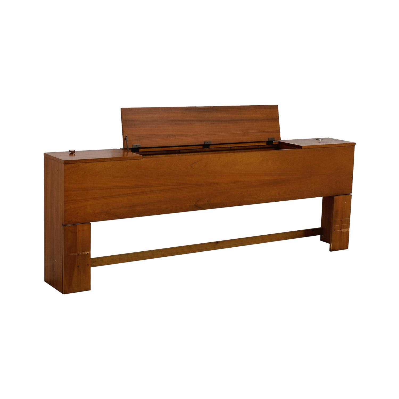 shop Dixie Furniture Company Storage King to Cal King Headboard Dixie Furniture Company Headboards