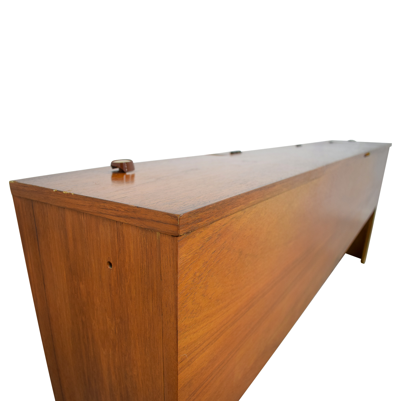 Dixie Furniture Company Dixie Furniture Company Storage King to Cal King Headboard dimensions