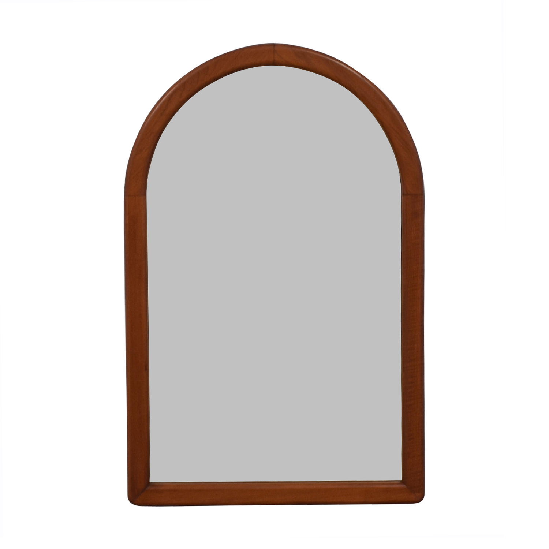 shop Wood Arch Wall Mirror  Mirrors