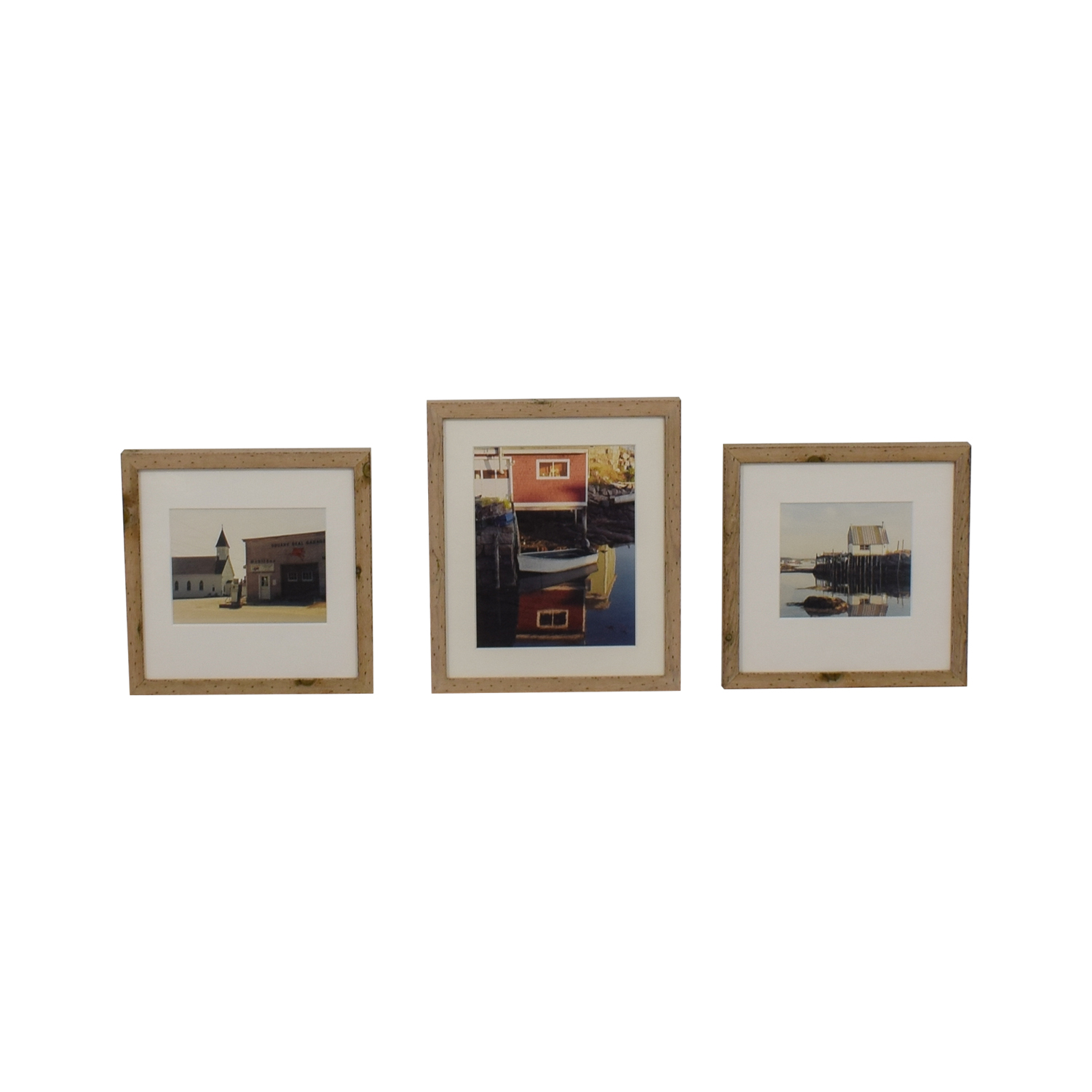 Original CT Seaside Photographs in Chelsea Rustic Wood Frames coupon
