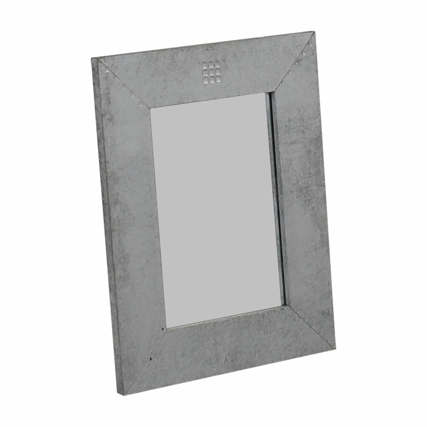 shop Silver Wide Framed Mirror  Mirrors