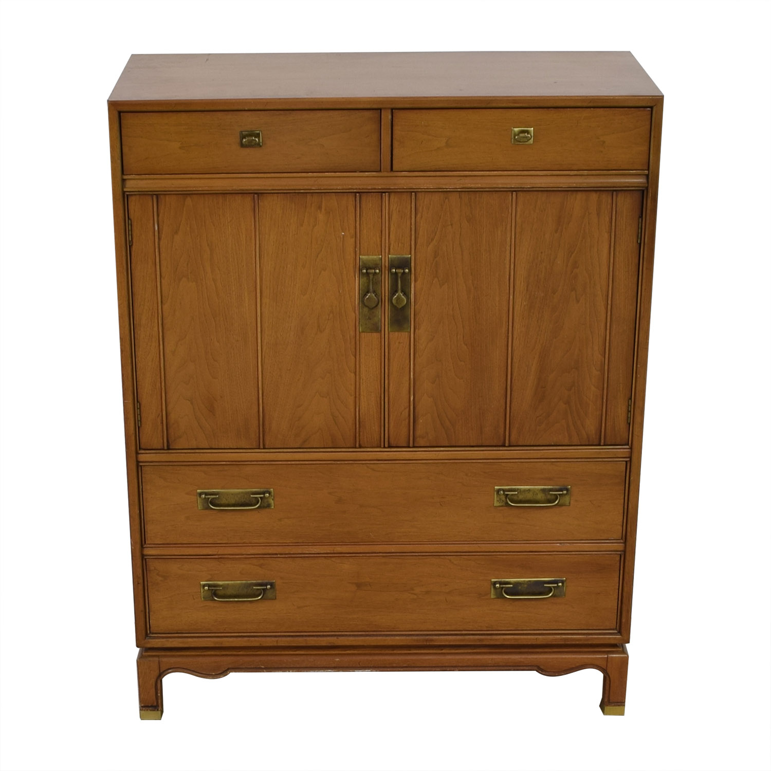 buy Antique Nelsonized Wood Seven- Drawer Dresser  Cabinets & Sideboards