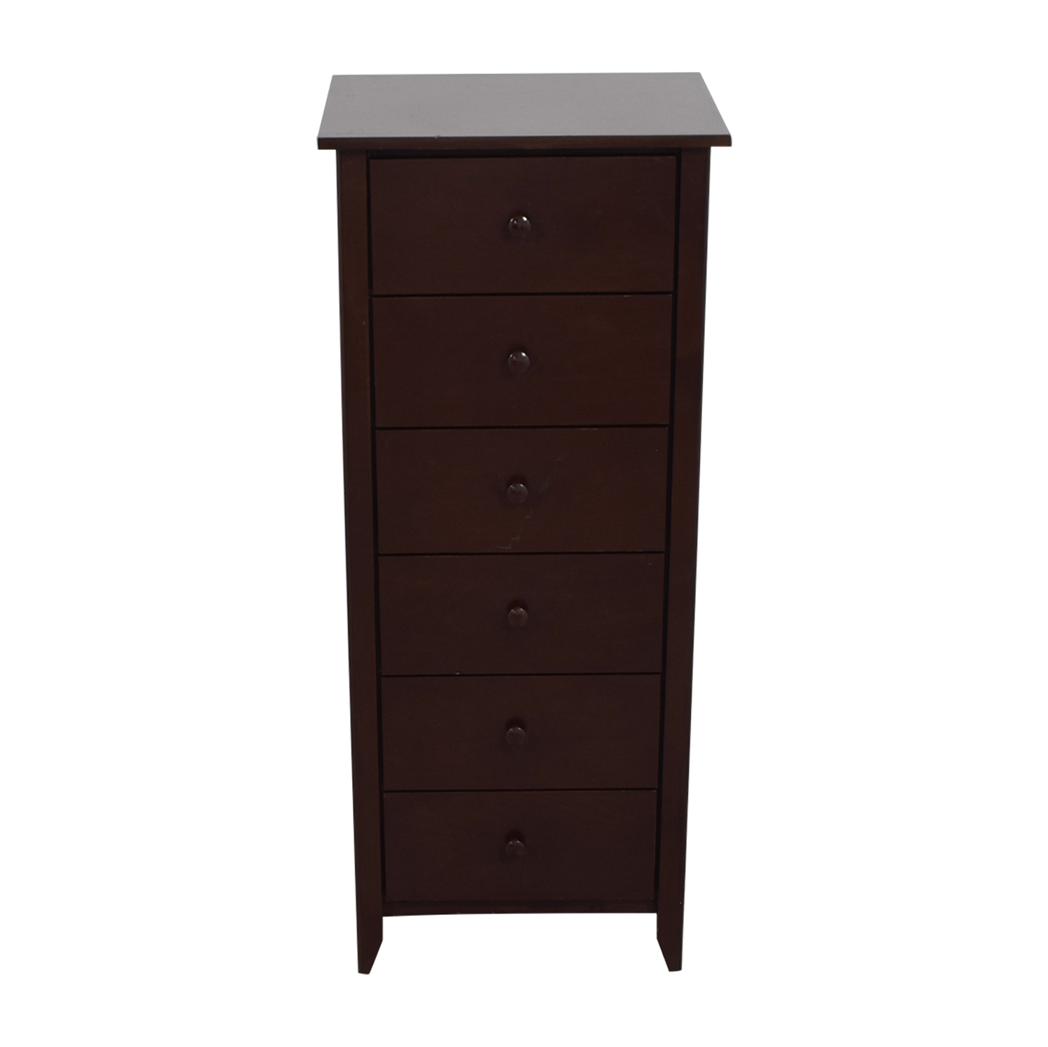 shop Gotham Cabinet Craft Six-Drawer Tall Dresser Gotham Cabinet Craft