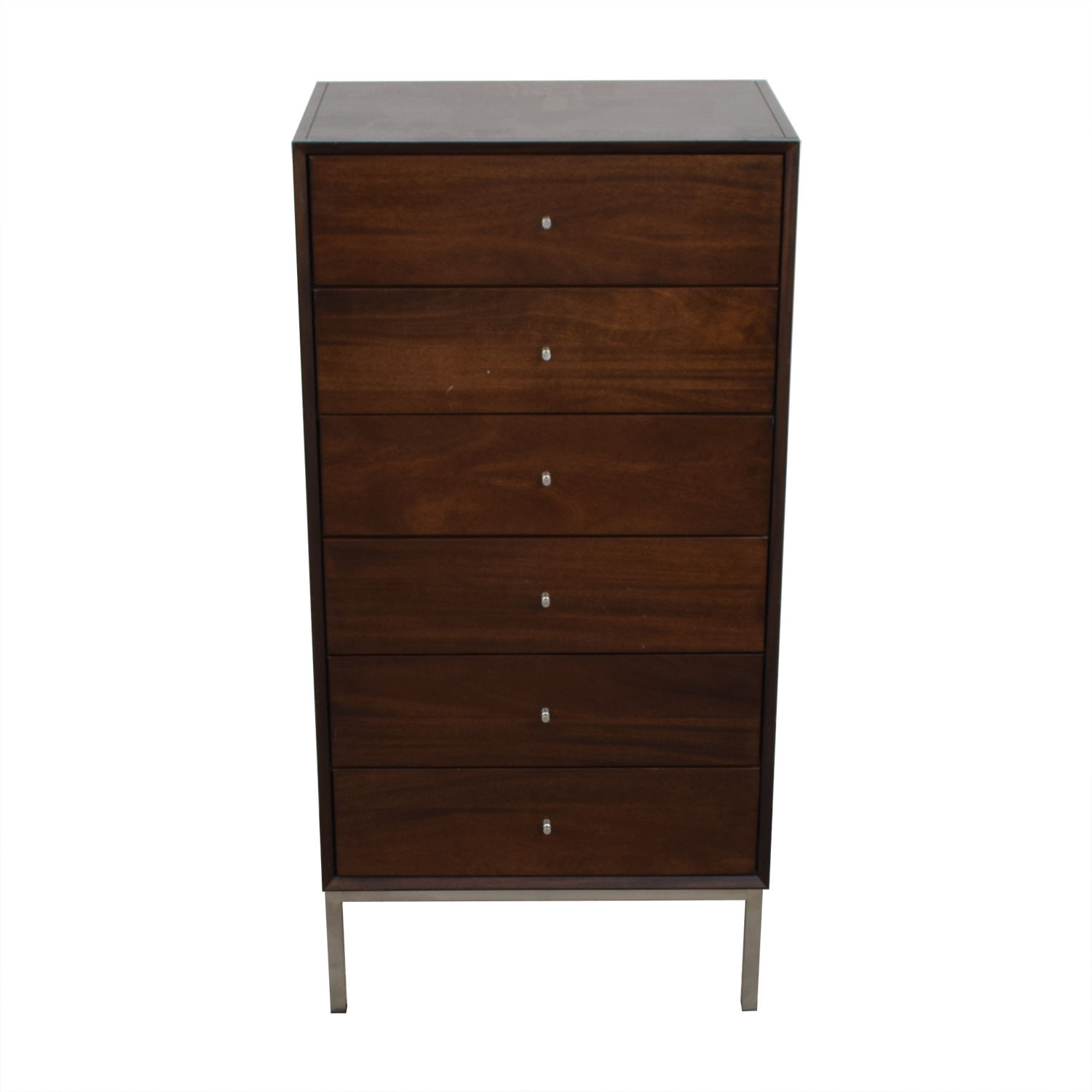 Room & Board Room & Board Delano Walnut Six-Drawer Dresser for sale