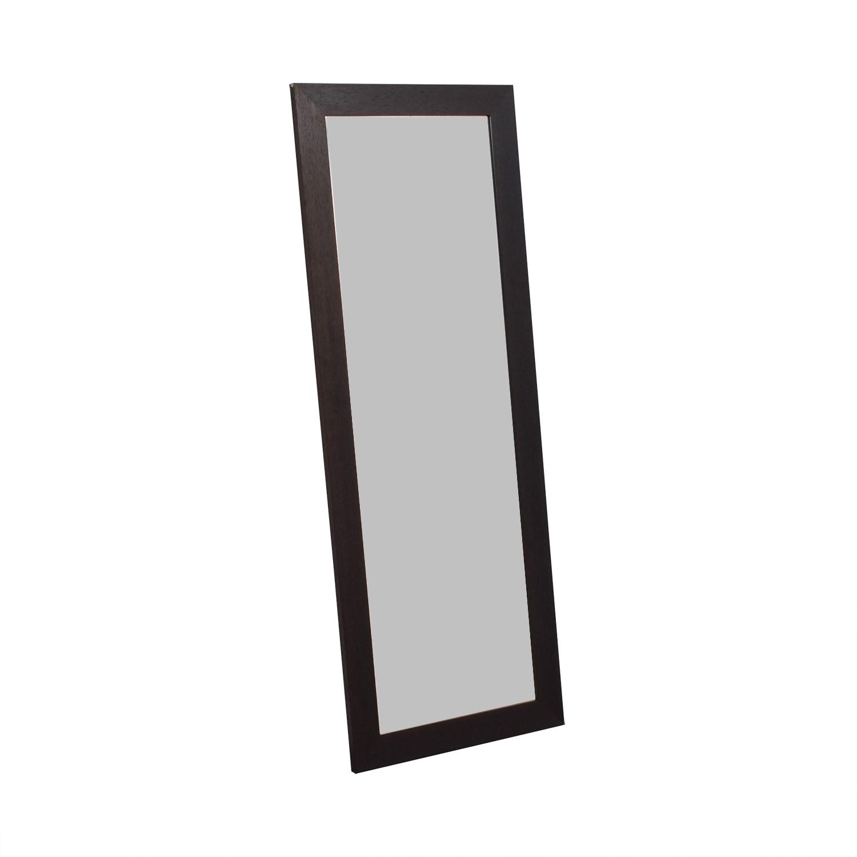 Room & Board Room & Board Wood Framed Floor Mirror price