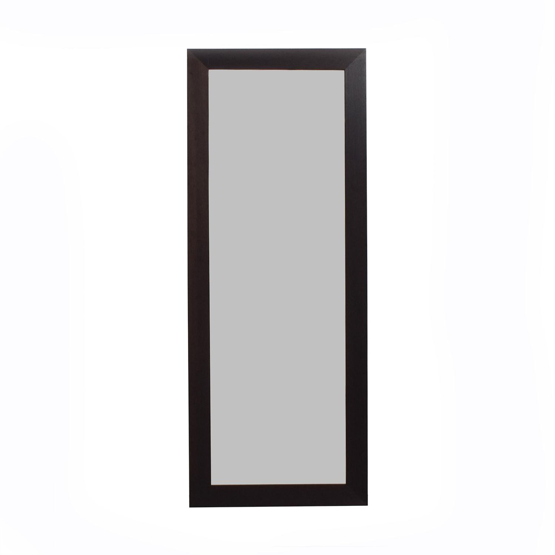 shop Room & Board Wood Framed Floor Mirror Room & Board