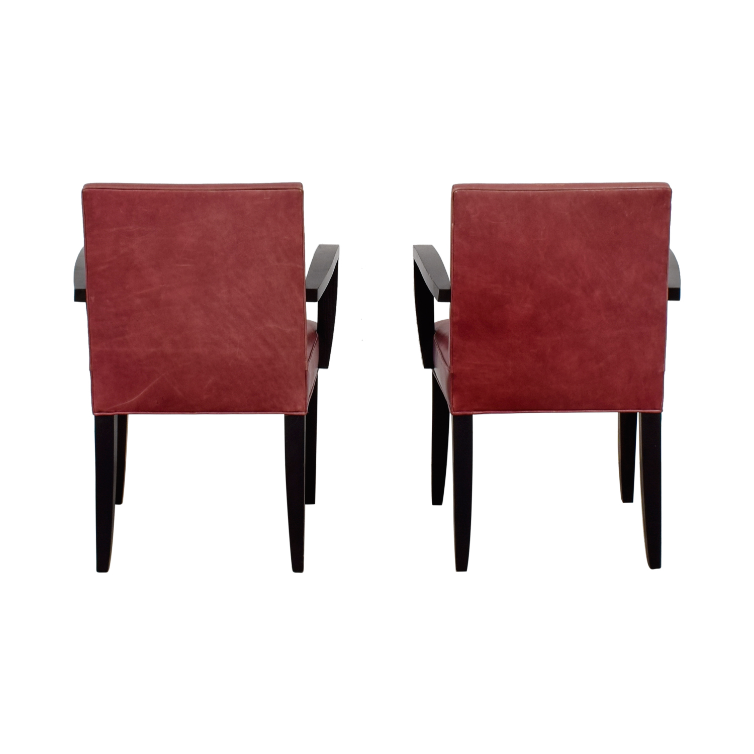 buy  Red Leather Side Chairs online