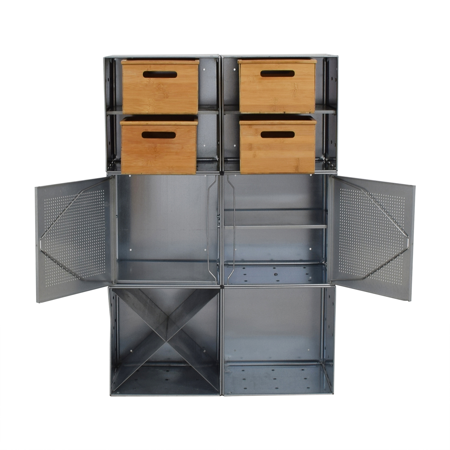 ... Buy Container Store Container Store Metal And Wood Storage Console  Online ...