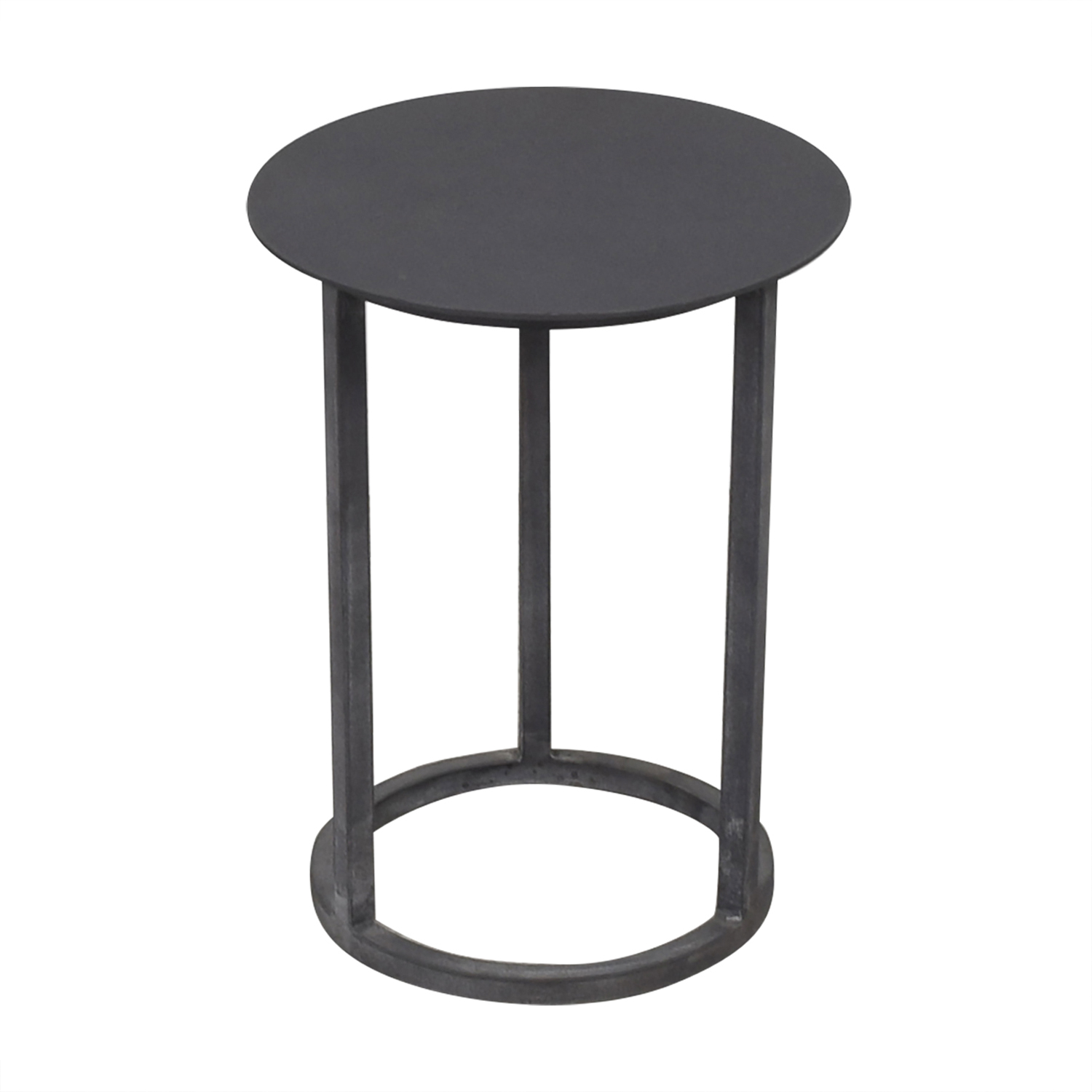 buy Restoration Hardware Mercer Round Side Table Restoration Hardware