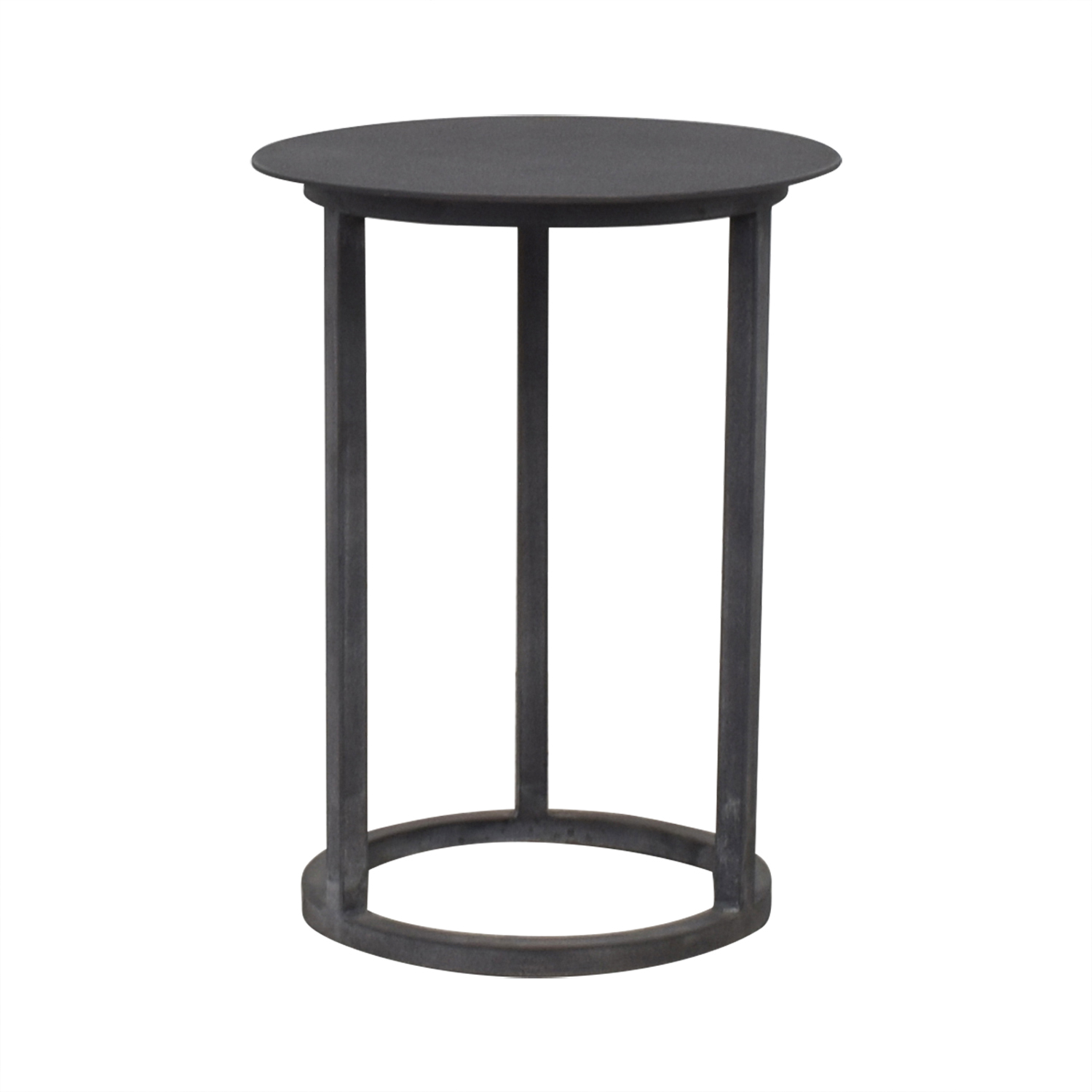 Restoration Hardware Restoration Hardware Mercer Round Side Table Tables