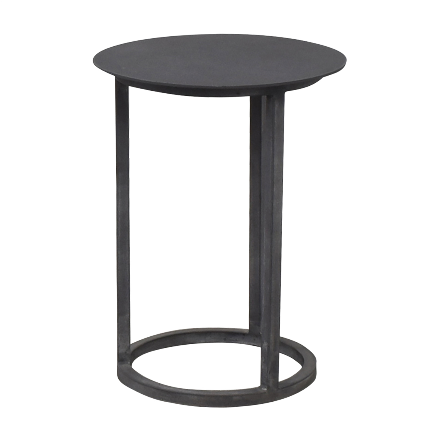 59 Off Restoration Hardware Restoration Hardware Mercer Round Side Table Tables