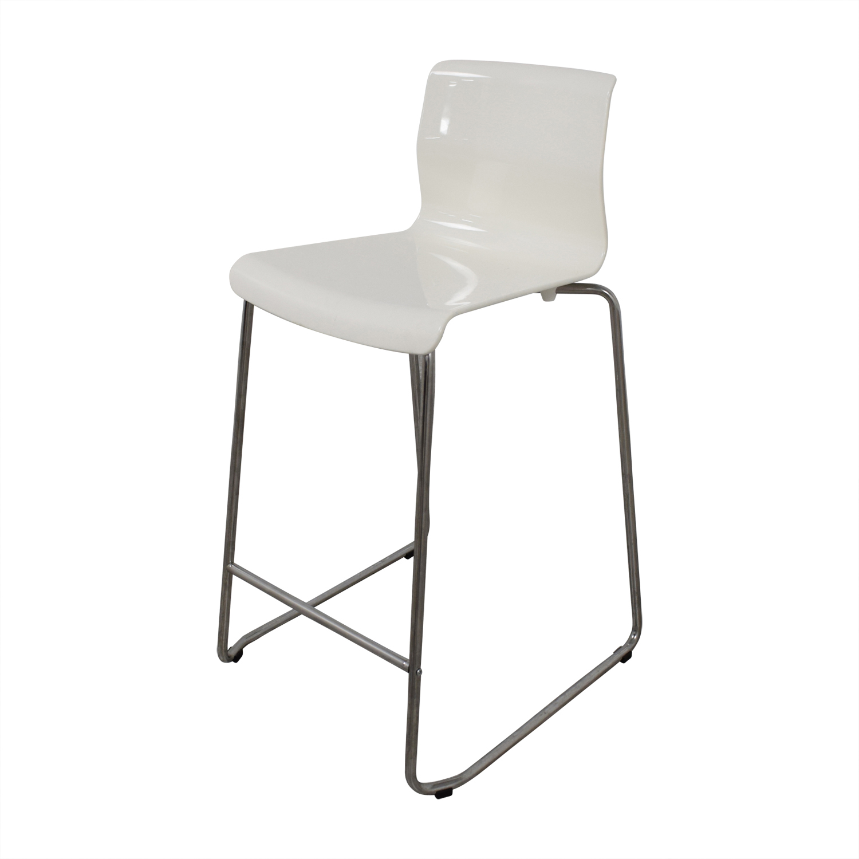 IKEA IKEA Glenn White Bar Stools Chairs