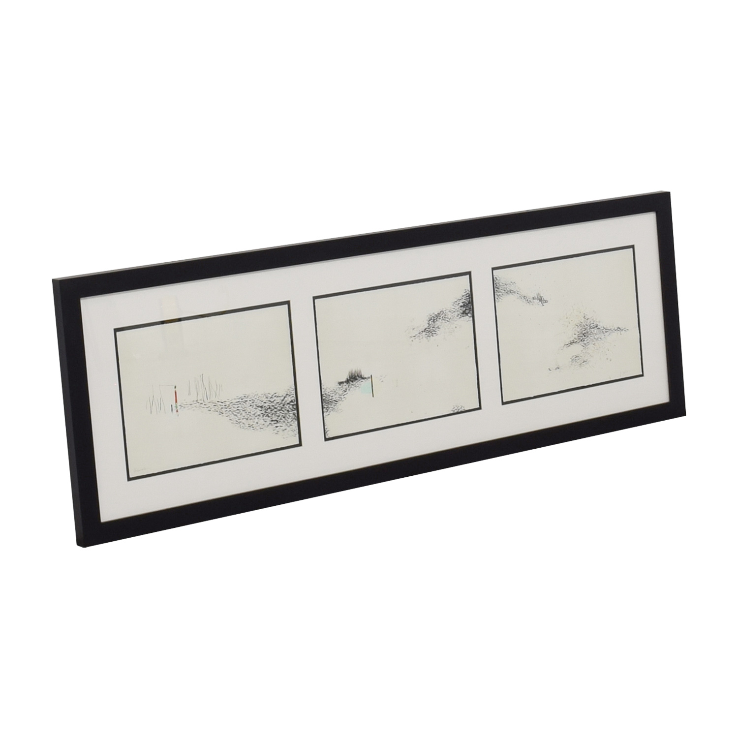 Crate & Barrel Crate & Barrel Intervals Triptych Print By Julie S Graham used