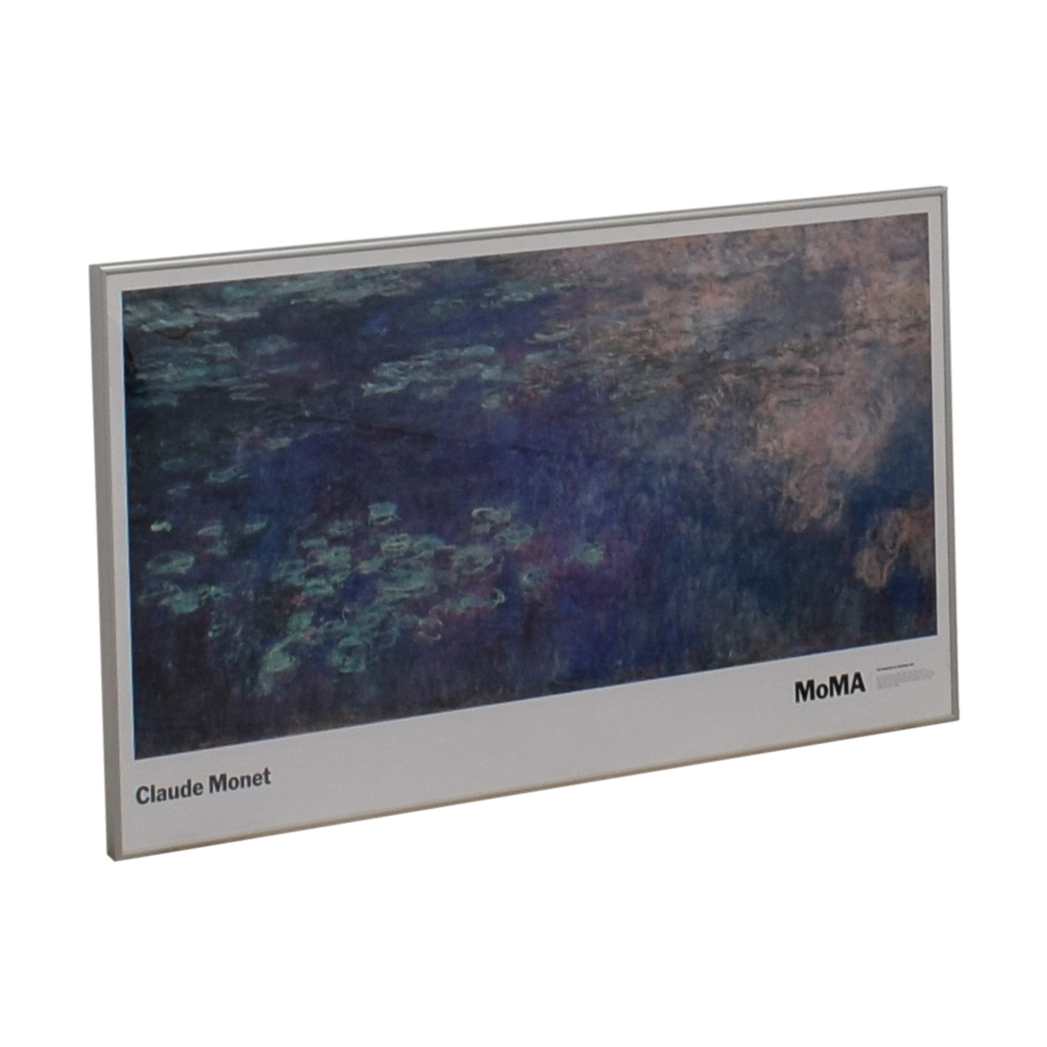shop Claude Monet Water Lilies Framed MOMA Print Claude Monet Wall Art