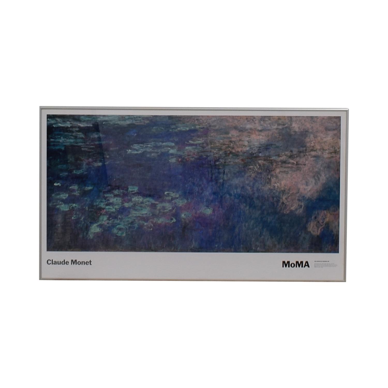 shop Claude Monet Claude Monet Water Lilies Framed MOMA Print online