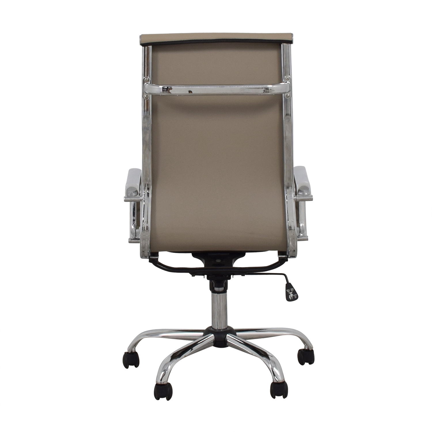 Lumen Designs Lumen Designs Taupe Swivel Office Chair coupon