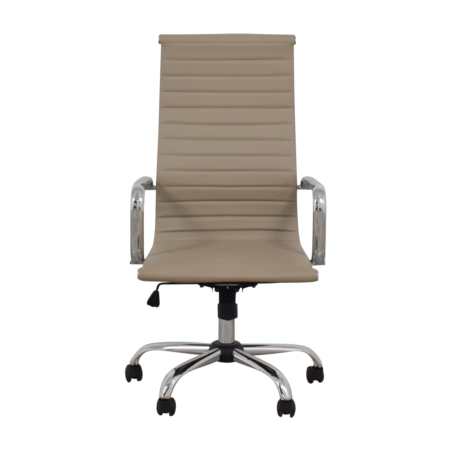 Lumen Designs Taupe Swivel Office Chair Lumen Designs