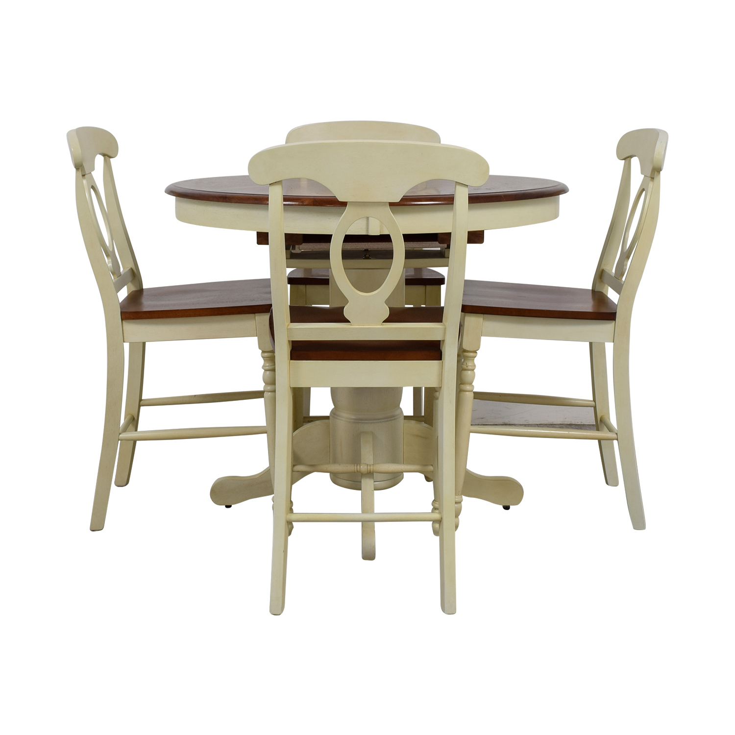 Raymour & Flanigan Kenton II Extendable Dining Set / Tables
