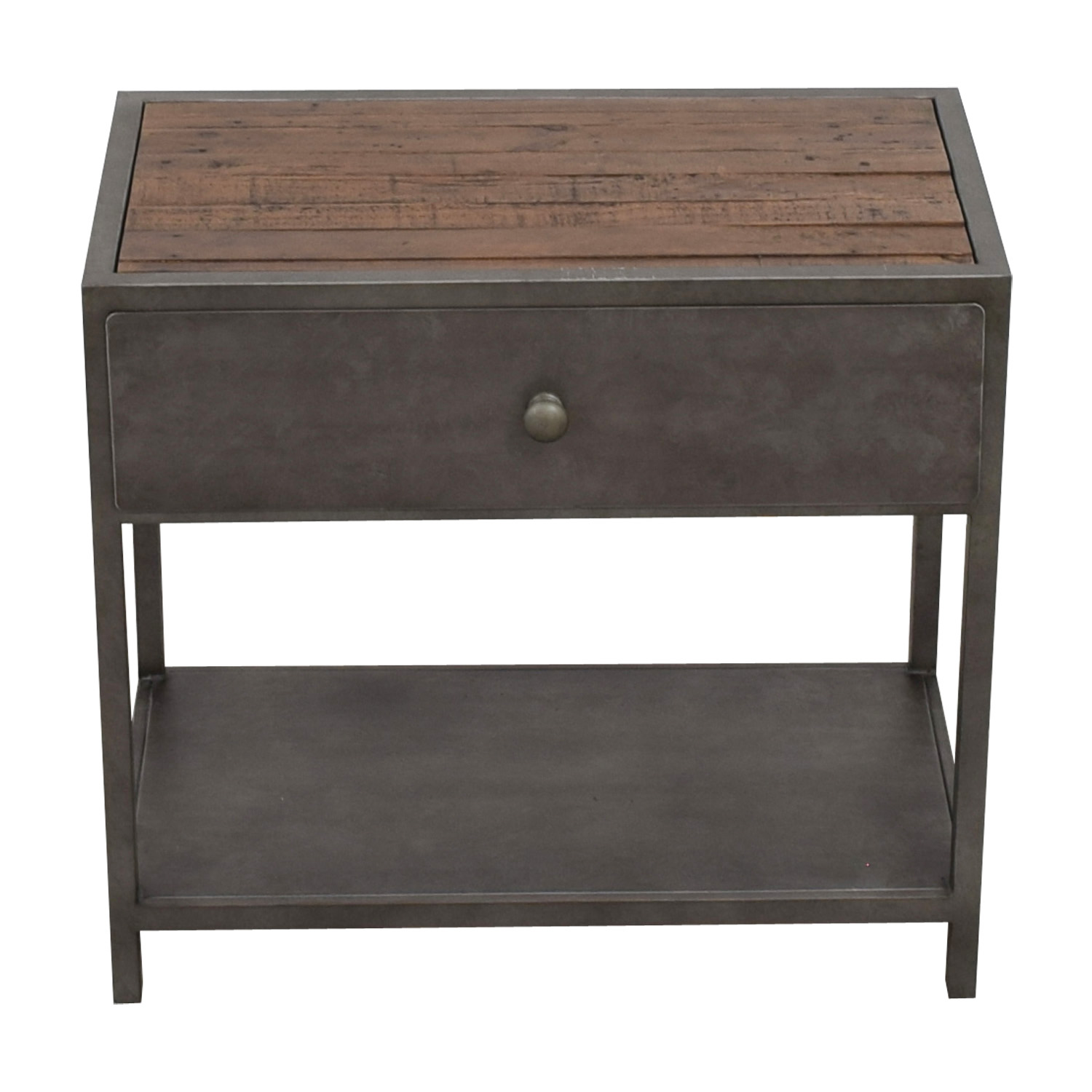 Pottery Barn Pottery Barn Big Daddy Single Drawer Side Table for sale