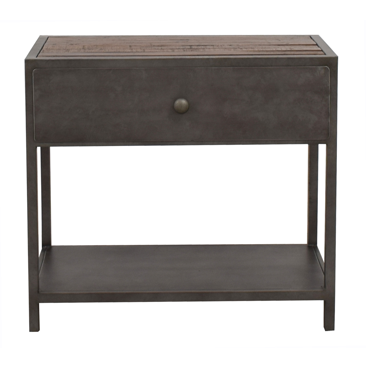 OFF Pottery Barn Pottery Barn Big Daddy Single Drawer Side - Pottery barn coffee table with drawers