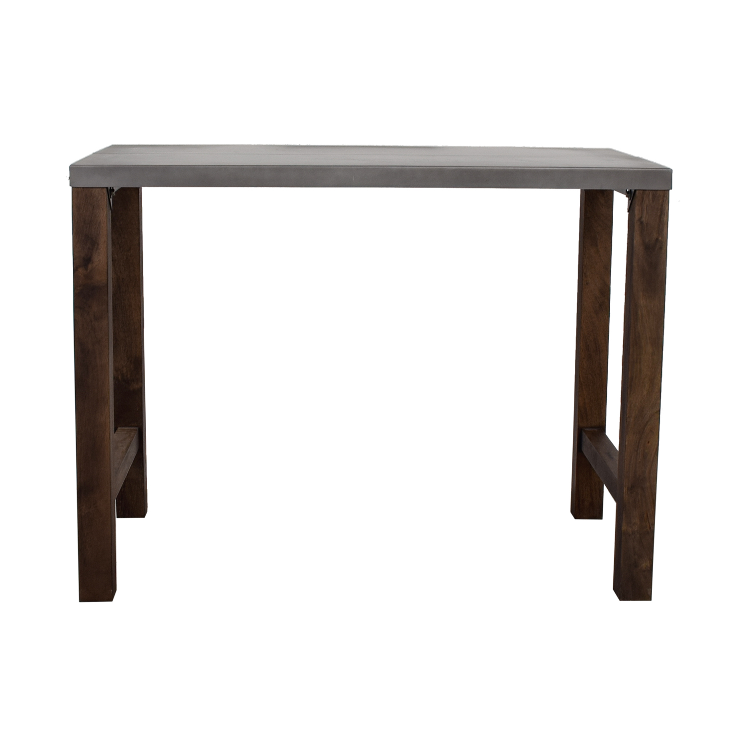 Crate & Barrel Crate & Barrel Metal High Top Table nj