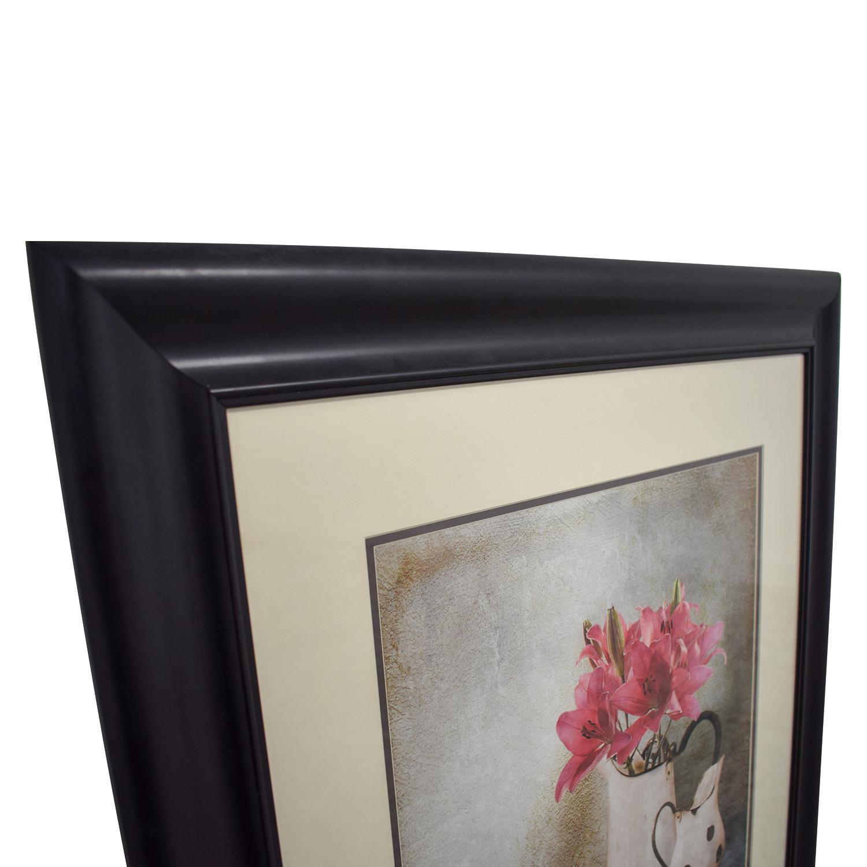 Pink Flower Pot Print