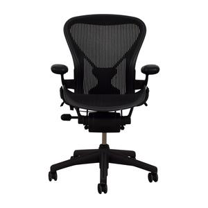 Herman Miller Herman Miller Aeron Black Chair second hand