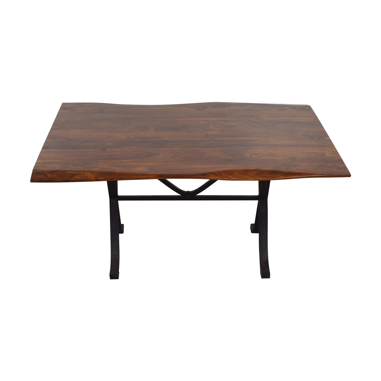shop Arhaus Arhaus Wave Wood Dining Table online