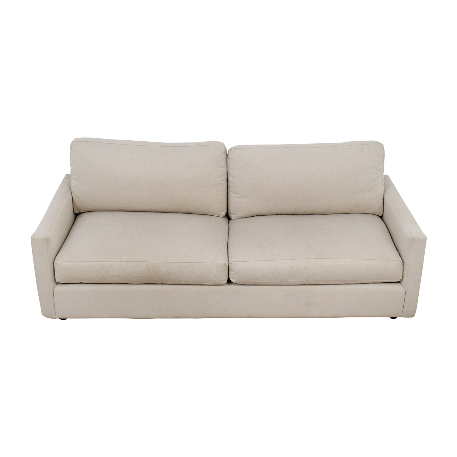buy Room & Board Easton Beige Two-Cushion Sofa Room & Board Classic Sofas