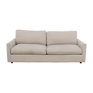 Room & Board Room & Board Easton Beige Two-Cushion Sofa on sale
