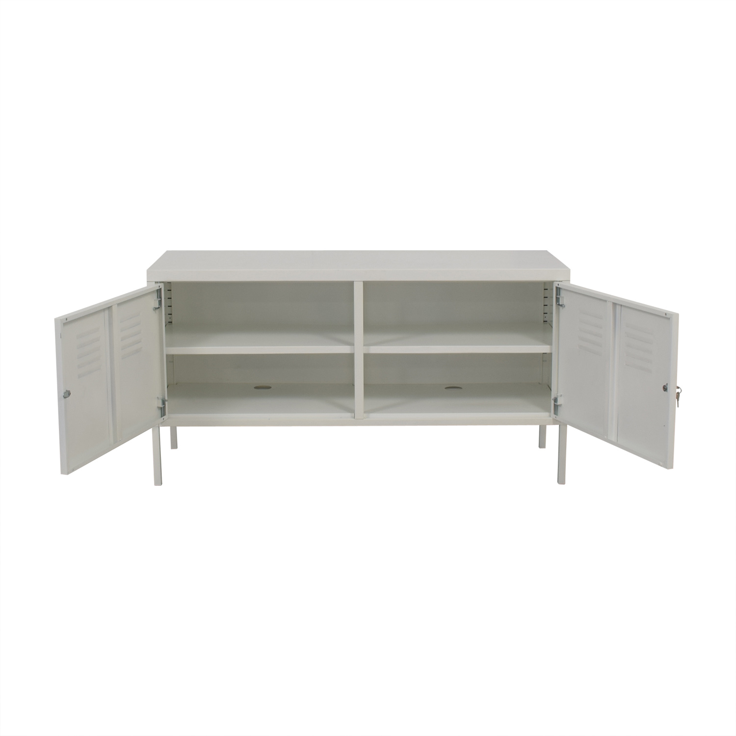 shop IKEA IKEA White Metal Locker Cabinet online